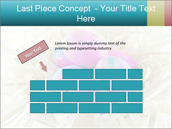 Pink And Blue Easter Eggs PowerPoint Template - Slide 46