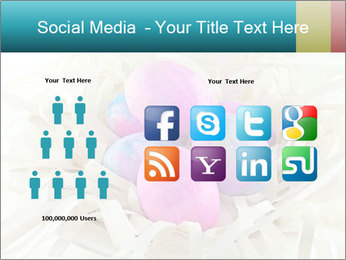 Pink And Blue Easter Eggs PowerPoint Template - Slide 5