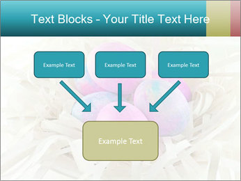 Pink And Blue Easter Eggs PowerPoint Template - Slide 70