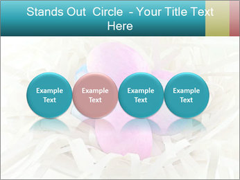 Pink And Blue Easter Eggs PowerPoint Template - Slide 76