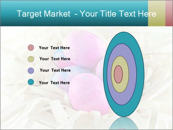 Pink And Blue Easter Eggs PowerPoint Template - Slide 84