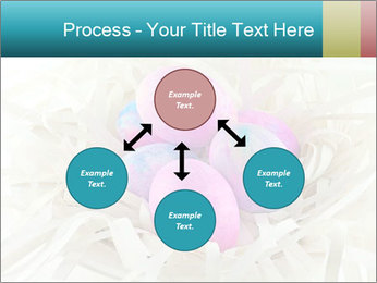 Pink And Blue Easter Eggs PowerPoint Template - Slide 91