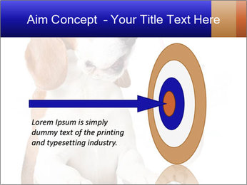 Dog Drinking Cocktail PowerPoint Template - Slide 83