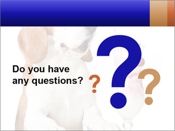 Dog Drinking Cocktail PowerPoint Template - Slide 96