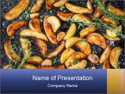 Homemade Chips PowerPoint Template