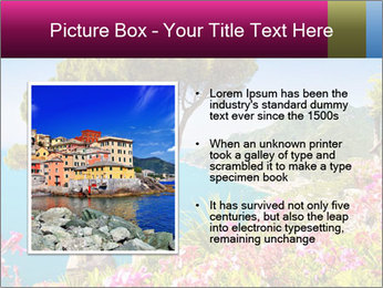 Scenic picture view of famous Amalfi Coast, Italy PowerPoint Template - Slide 13