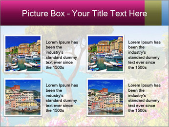 Scenic picture view of famous Amalfi Coast, Italy PowerPoint Template - Slide 14