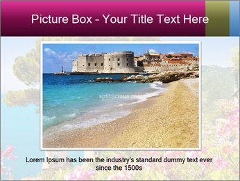 Scenic picture view of famous Amalfi Coast, Italy PowerPoint Template - Slide 15