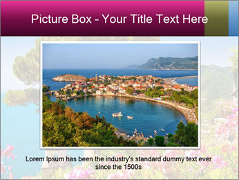 Scenic picture view of famous Amalfi Coast, Italy PowerPoint Template - Slide 16