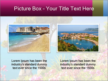 Scenic picture view of famous Amalfi Coast, Italy PowerPoint Template - Slide 18