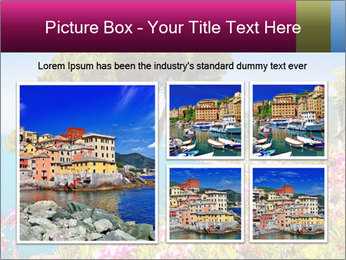 Scenic picture view of famous Amalfi Coast, Italy PowerPoint Template - Slide 19