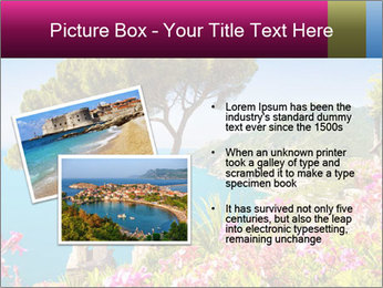 Scenic picture view of famous Amalfi Coast, Italy PowerPoint Template - Slide 20