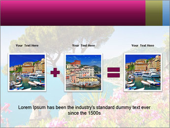 Scenic picture view of famous Amalfi Coast, Italy PowerPoint Template - Slide 22