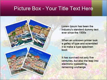 Scenic picture view of famous Amalfi Coast, Italy PowerPoint Template - Slide 23