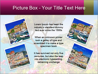 Scenic picture view of famous Amalfi Coast, Italy PowerPoint Template - Slide 24