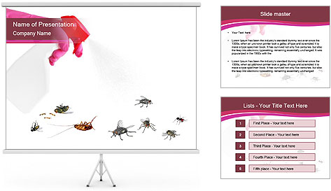 Pest control concept PowerPoint Template