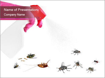 Pest control concept PowerPoint Template - Slide 1