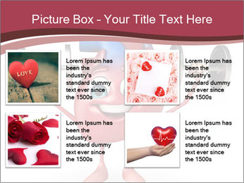 Cartoon Character of heart with dumbbells PowerPoint Template - Slide 14