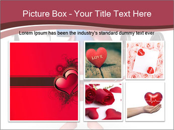 Cartoon Character of heart with dumbbells PowerPoint Template - Slide 19