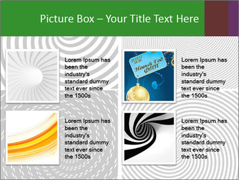 Set of abstract spiral PowerPoint Templates - Slide 14