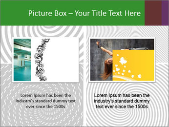Set of abstract spiral PowerPoint Templates - Slide 18