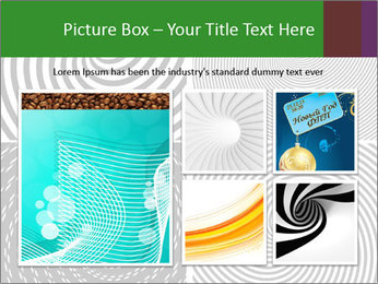 Set of abstract spiral PowerPoint Templates - Slide 19