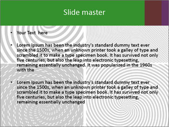 Set of abstract spiral PowerPoint Templates - Slide 2