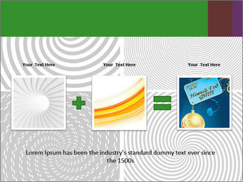 Set of abstract spiral PowerPoint Templates - Slide 22