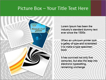 Set of abstract spiral PowerPoint Templates - Slide 23