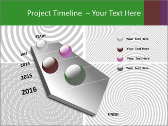 Set of abstract spiral PowerPoint Templates - Slide 26