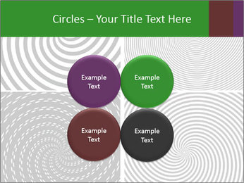 Set of abstract spiral PowerPoint Templates - Slide 38