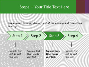 Set of abstract spiral PowerPoint Templates - Slide 4