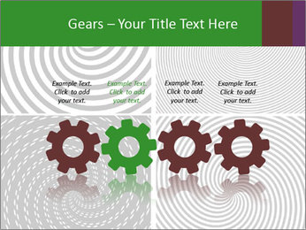 Set of abstract spiral PowerPoint Templates - Slide 48