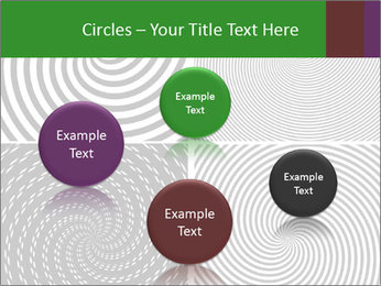 Set of abstract spiral PowerPoint Templates - Slide 77