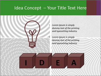 Set of abstract spiral PowerPoint Templates - Slide 80