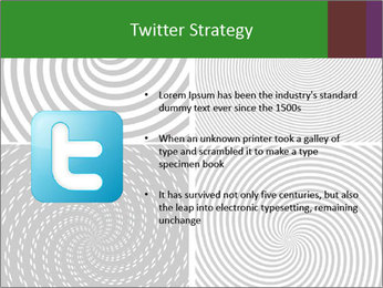 Set of abstract spiral PowerPoint Templates - Slide 9