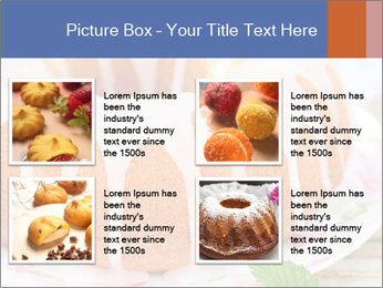 Summer Bundt Cake Topped with Sugar Glaze PowerPoint Templates - Slide 14