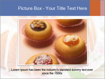 Summer Bundt Cake Topped with Sugar Glaze PowerPoint Templates - Slide 15