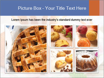 Summer Bundt Cake Topped with Sugar Glaze PowerPoint Templates - Slide 19