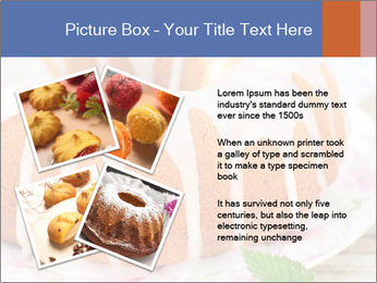 Summer Bundt Cake Topped with Sugar Glaze PowerPoint Templates - Slide 23