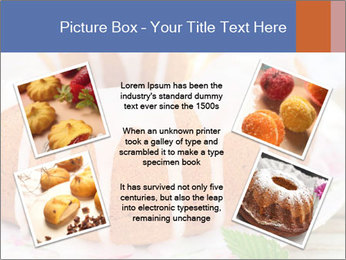 Summer Bundt Cake Topped with Sugar Glaze PowerPoint Templates - Slide 24
