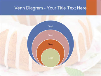 Summer Bundt Cake Topped with Sugar Glaze PowerPoint Templates - Slide 34