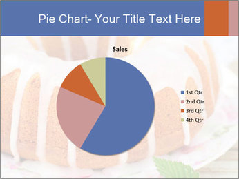 Summer Bundt Cake Topped with Sugar Glaze PowerPoint Templates - Slide 36