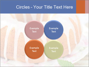 Summer Bundt Cake Topped with Sugar Glaze PowerPoint Templates - Slide 38