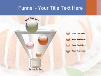 Summer Bundt Cake Topped with Sugar Glaze PowerPoint Templates - Slide 63