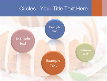 Summer Bundt Cake Topped with Sugar Glaze PowerPoint Templates - Slide 77
