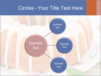 Summer Bundt Cake Topped with Sugar Glaze PowerPoint Templates - Slide 79