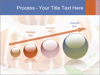 Summer Bundt Cake Topped with Sugar Glaze PowerPoint Templates - Slide 87