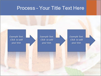 Summer Bundt Cake Topped with Sugar Glaze PowerPoint Template - Slide 88