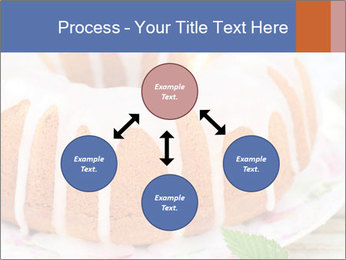 Summer Bundt Cake Topped with Sugar Glaze PowerPoint Templates - Slide 91